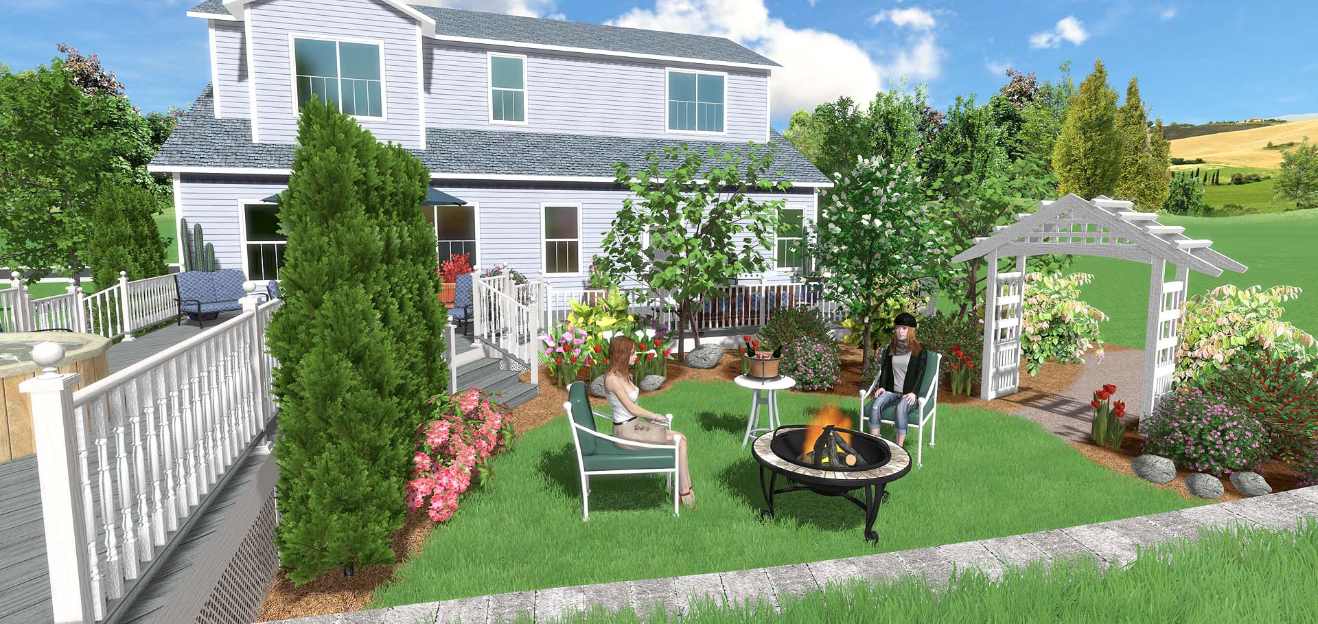Landscape design software overview for Architect 3d home landscape design