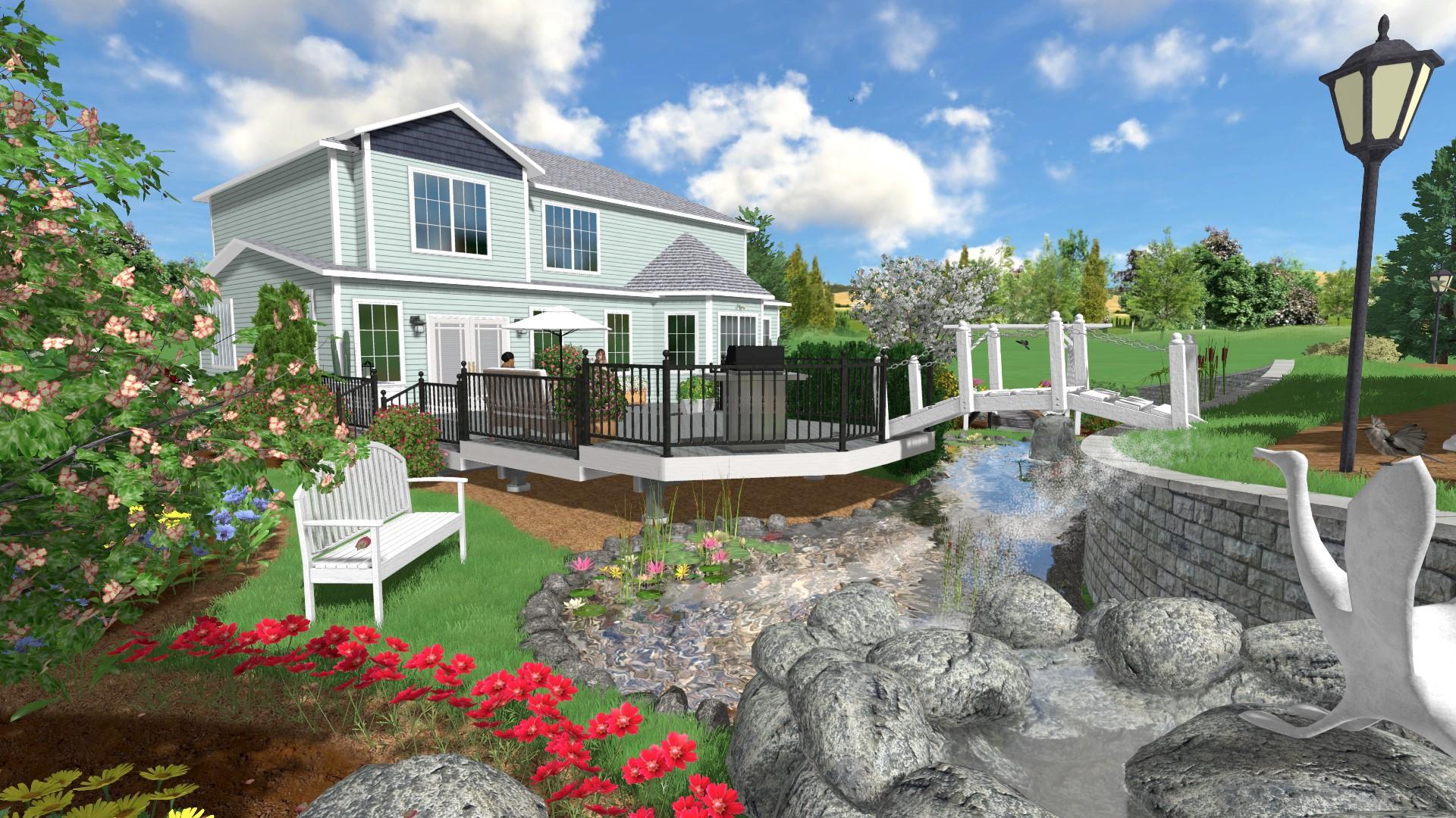 Landscape design software 3d landscaping best free for Architect 3d home landscape design