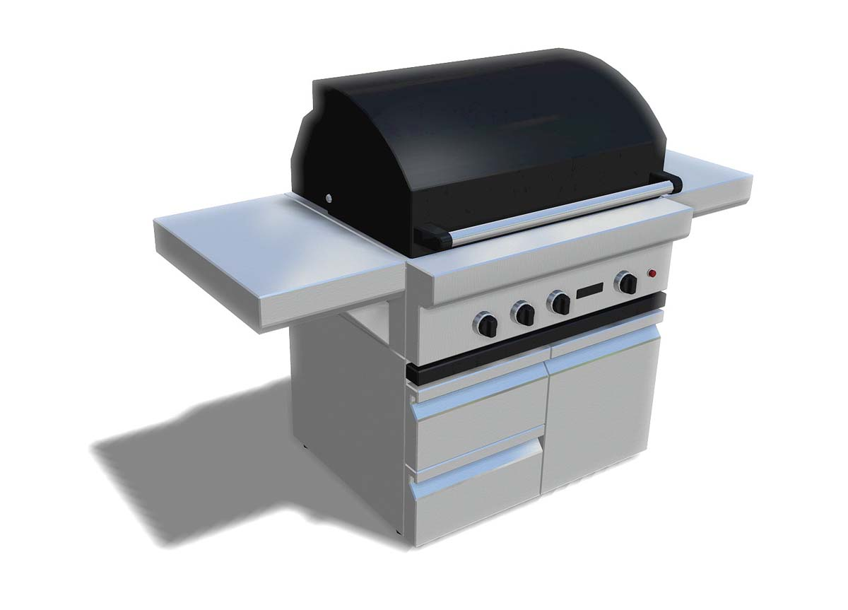 New Landscaping Grills and Barbecues