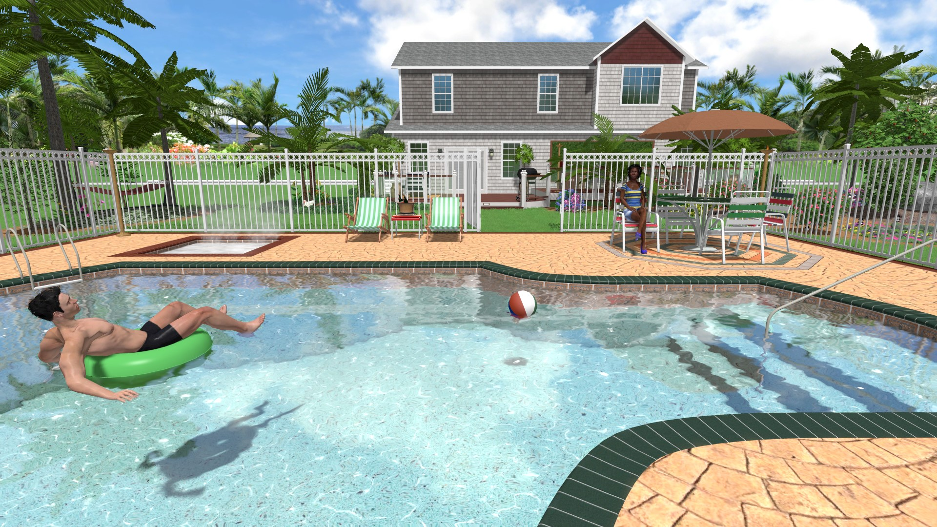 Landscaping software gallery for Pool design program