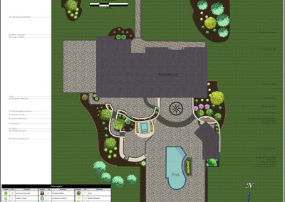 Color Sample Landscape Design